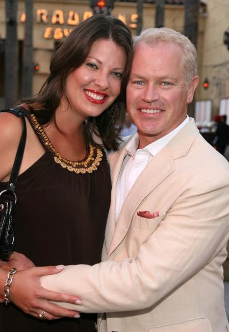 Ruve Robertson and Neal McDonough at the premiere of