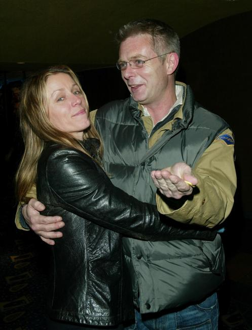 Frances McDormand and Stephen Daldry at the New York premiere of
