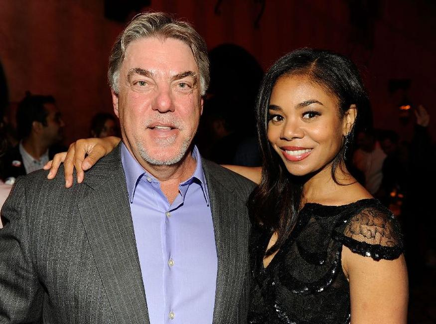 Bruce McGill and Regina Hall at the after party of