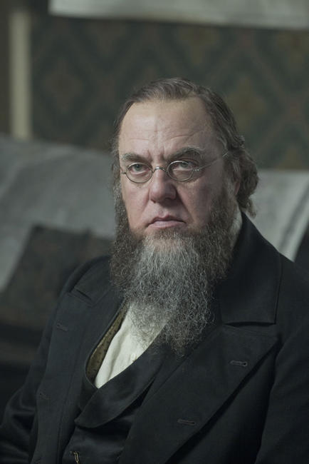 Bruce McGill as Edwin Stanton in