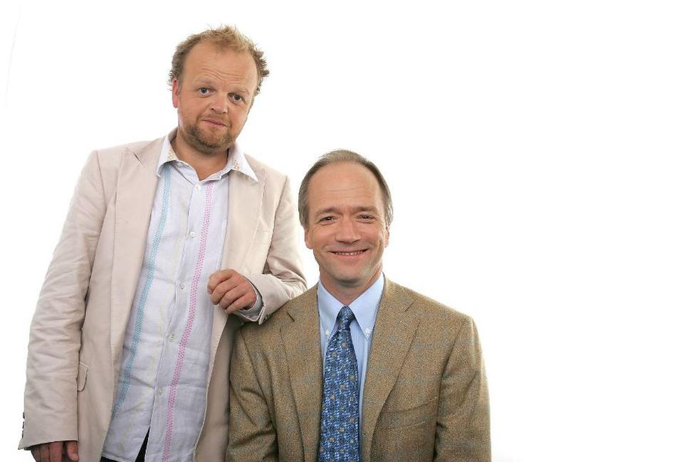 Toby Jones and Doug McGrath at the Portrait Session of