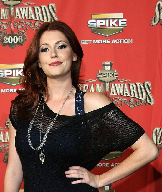 Diora Baird at the Spike TV's
