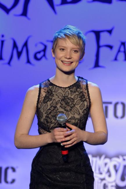 Mia Wasikowska at the Alice In Wonderland Ultimate Fan Event.