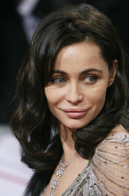 Emmanuelle Beart at the European Film Awards.