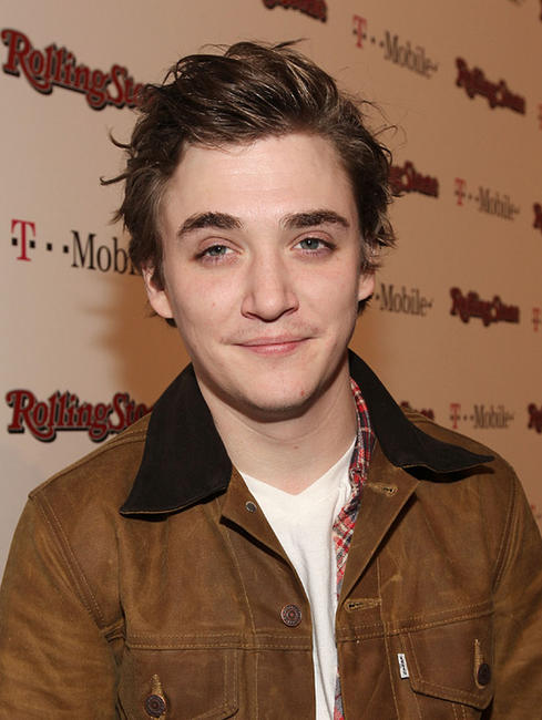 Kyle Gallner at the Peter Travers and Editors of Rolling Stone Host Awards Weekend Bash in California.