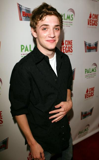 Kyle Gallner at the CineVegas Film Festival.