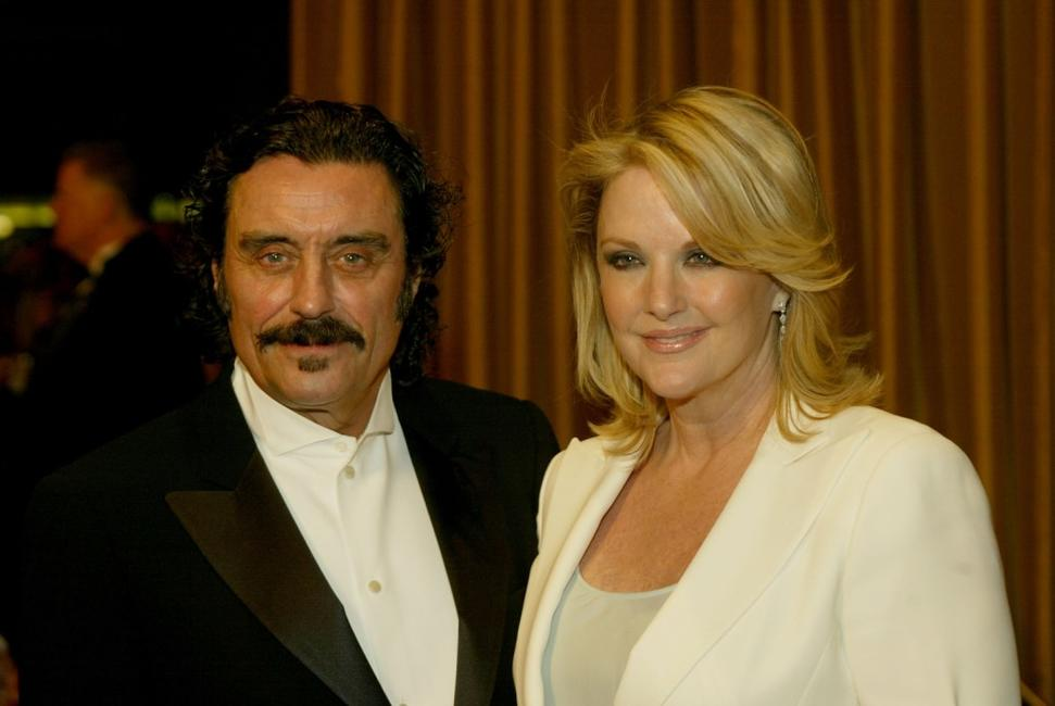 Ian McShane and his wife Gwen Humble at the 57th Annual DGA Awards Dinner.