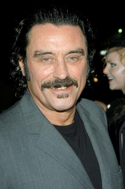 Ian McShane at the HBO's Telefilm Premiere of