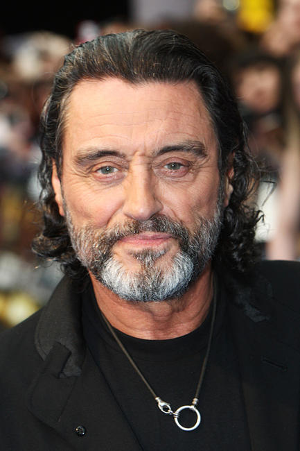 Ian McShane at the UK premiere of
