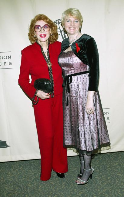 Jayne Meadows and Alison Arngrim at the Academy of Television Arts and Sciences Ribbon of Hope Celebration 2005.