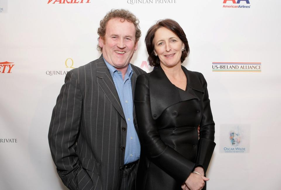 Colm Meany and Fiona Shaw at the Third Annual