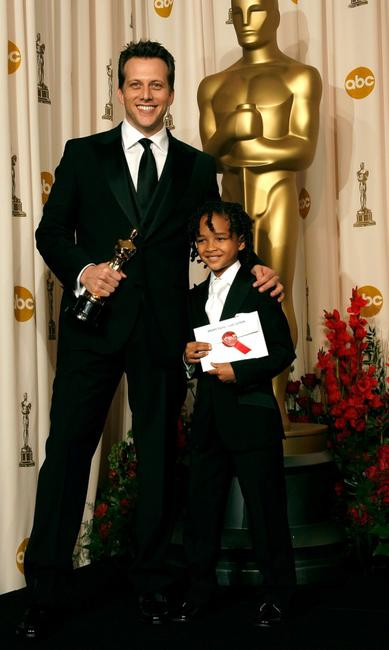 Director Ari Sandel and Jaden Smith at the 79th Annual Academy Awards.