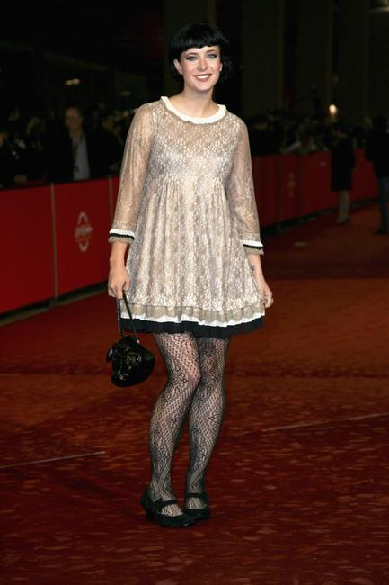 Diablo Cody at the premiere of