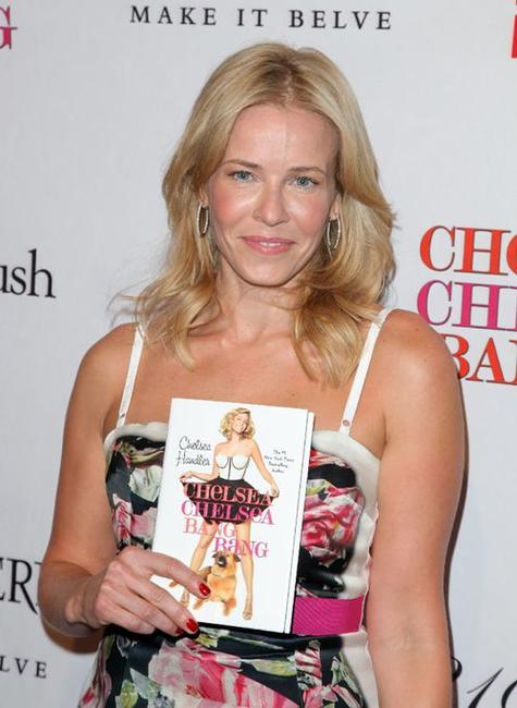 Chelsea Handler at the book party for