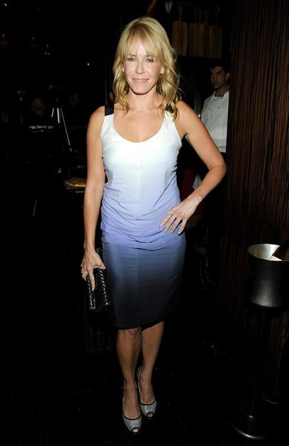 Chelsea Handler at the Fundraiser for NYPD/NYFD 9/11 Rescue Workers.