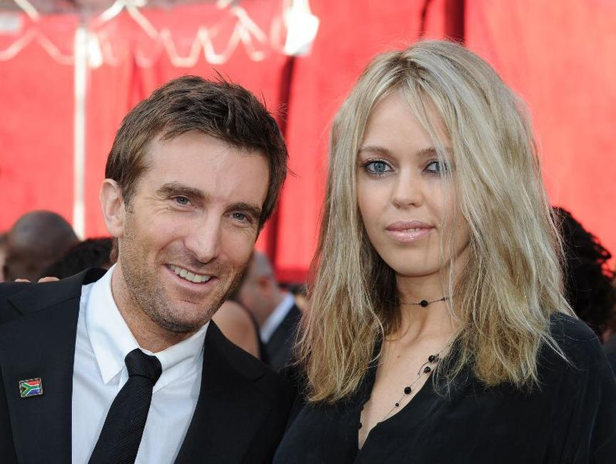 Sharlto Copley and Guest at the 82nd Annual Academy Awards.