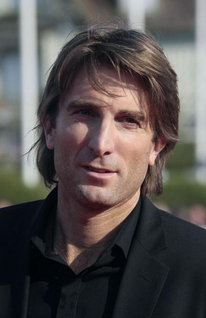 Sharlto Copley at the screening of