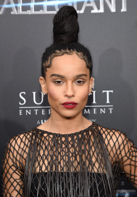 Zoe Kravitz at the New York premiere of