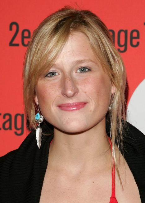 Mamie Gummer at the opening night of