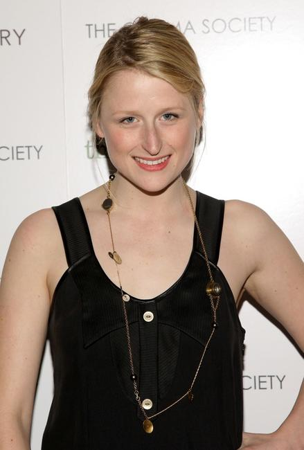 Mamie Gummer at the screening of