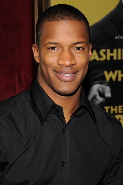 Nate Parker at the N.Y. premiere of