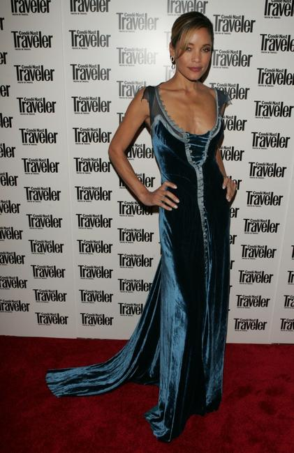 Michael Michele at the Conde Nast Traveler's 18th annual Readers Choice awards.