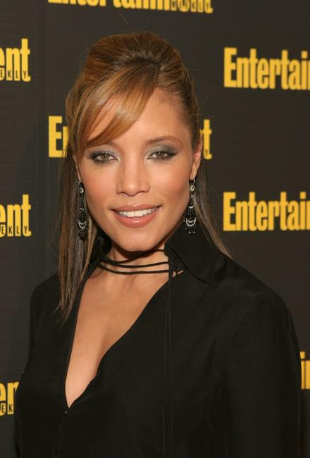 Michael Michele at the Entertainment Weekly's Oscar Viewing Party.