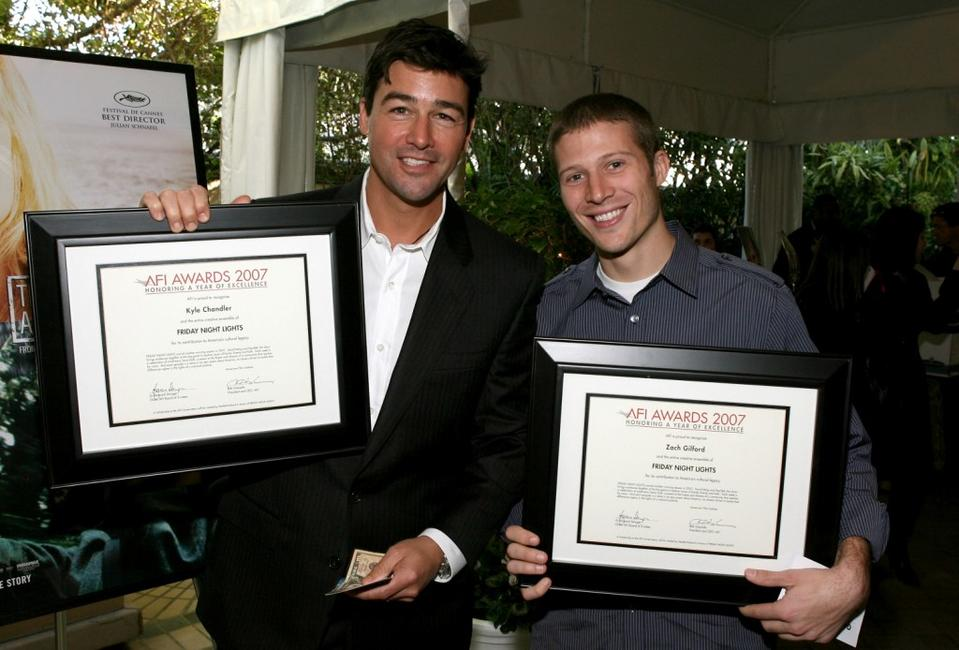Kyle Chandler and Zach Gilford at the 8th Annual AFI Awards.