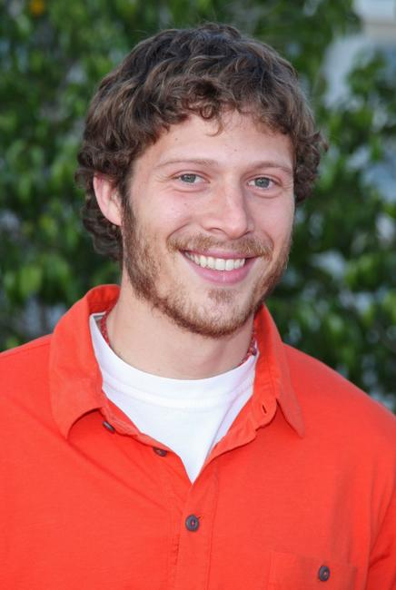 Zach Gilford at the NBC All-Star party.