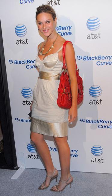 Beau Garrett at the launch party of the new BlackBerry Curve.