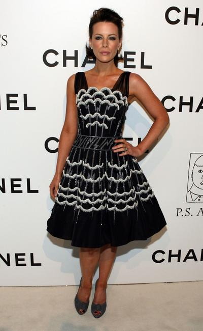 Kate Beckinsale at the CHANEL and P.S. ARTS Party.