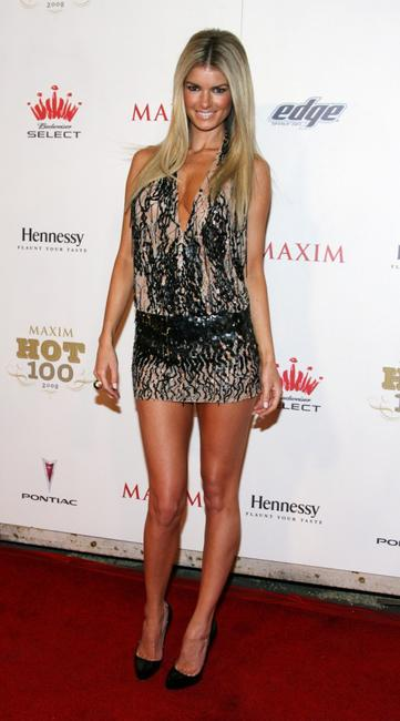 Marisa Miller at the Maxim's 2008 Hot 100 party.