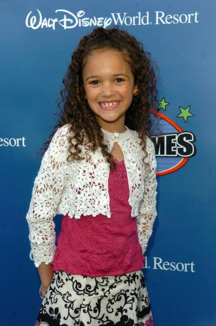 Madison Pettis at the Disney Channel Games 2007 All-Star party.