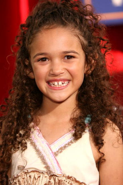 Madison Pettis at the Hollywood premiere of