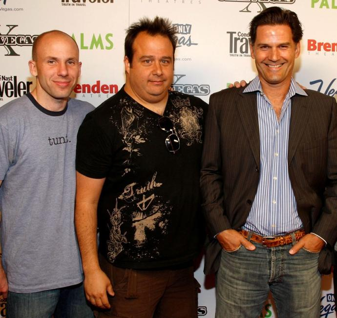 Director Jared Drake, Chris Coppola and D.W. Moffett at the screening