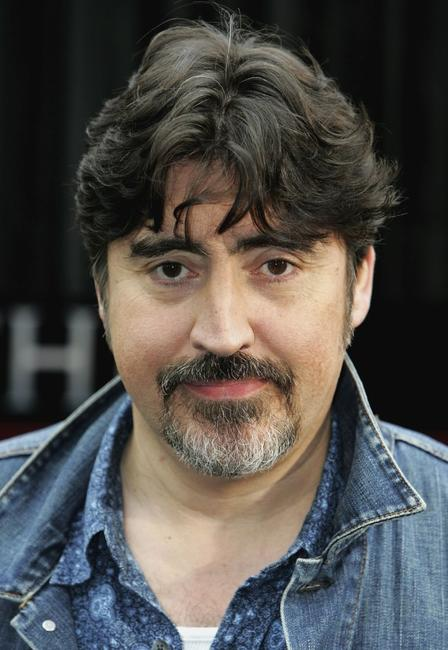 Alfred Molina at the Eurostar's Waterloo International Terminal, for new film