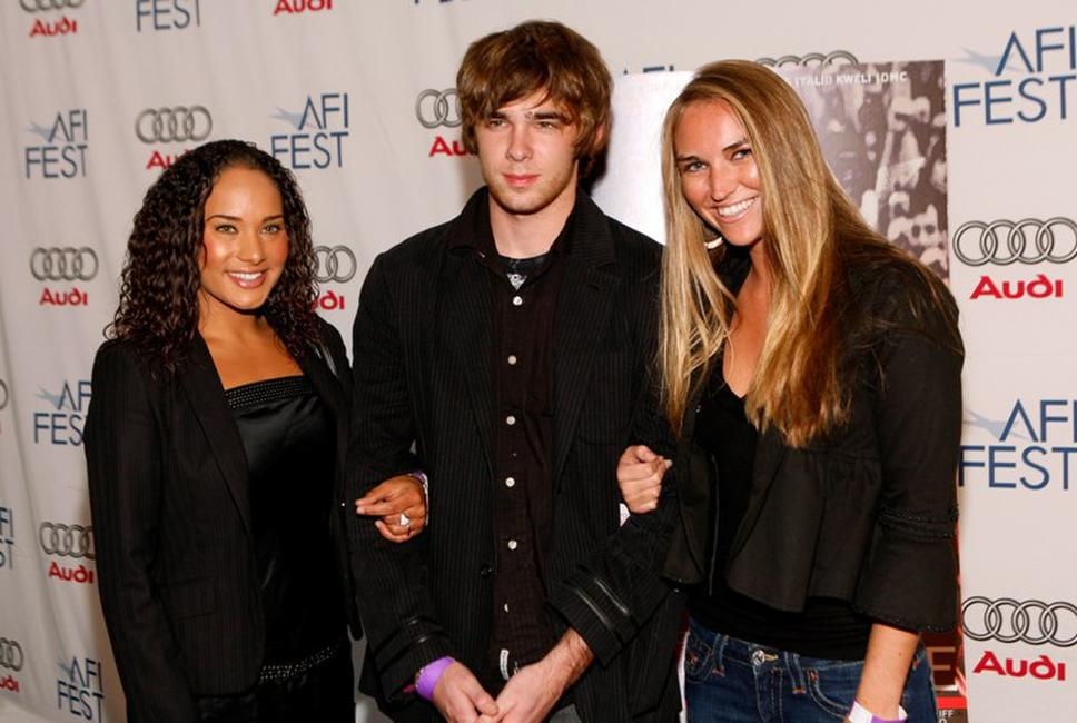 Simon Penn, Nick Lashaway and Alexandria Klipstein at the AFI FEST 2007.