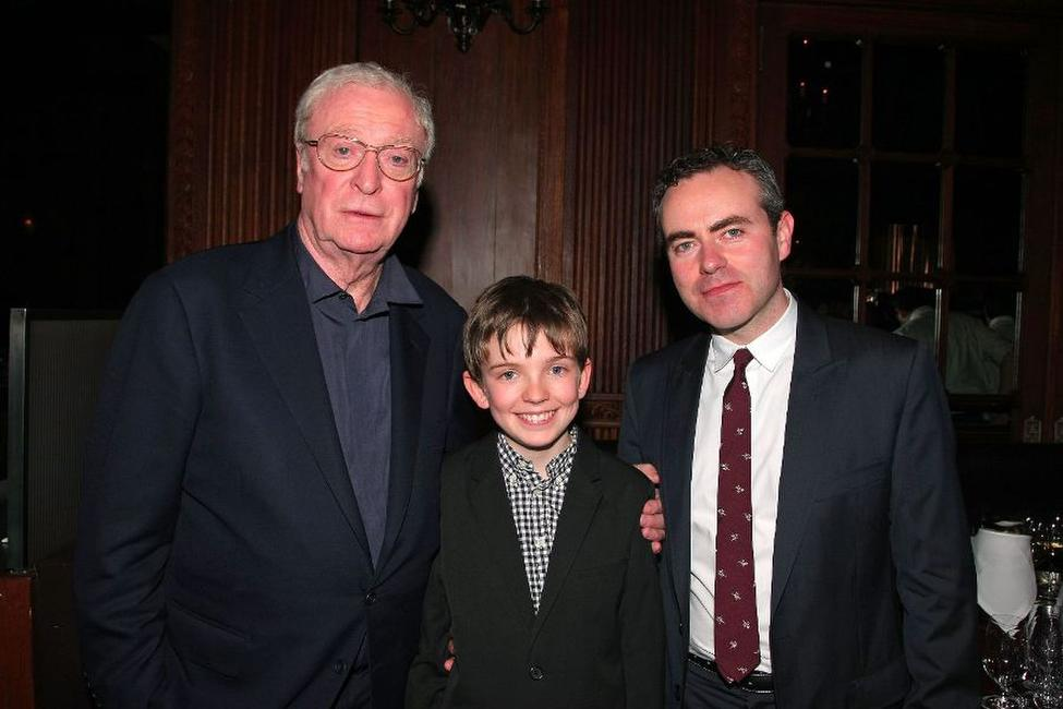 Michael Caine, Bill Milner and director John Crowley at the after party of the premiere of