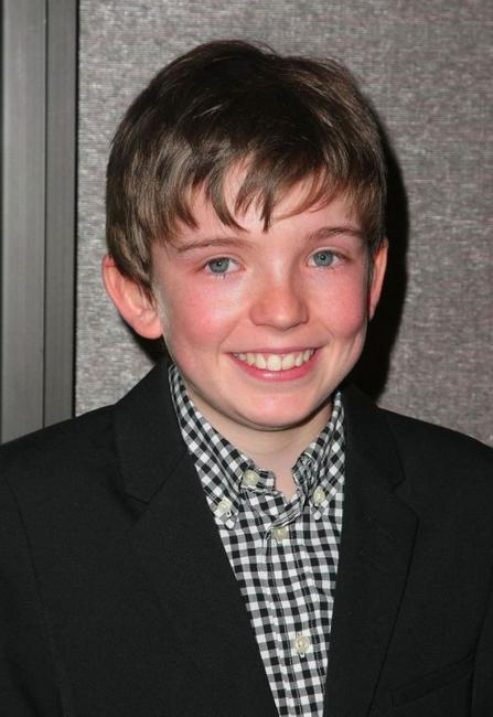 Bill Milner at the premiere of