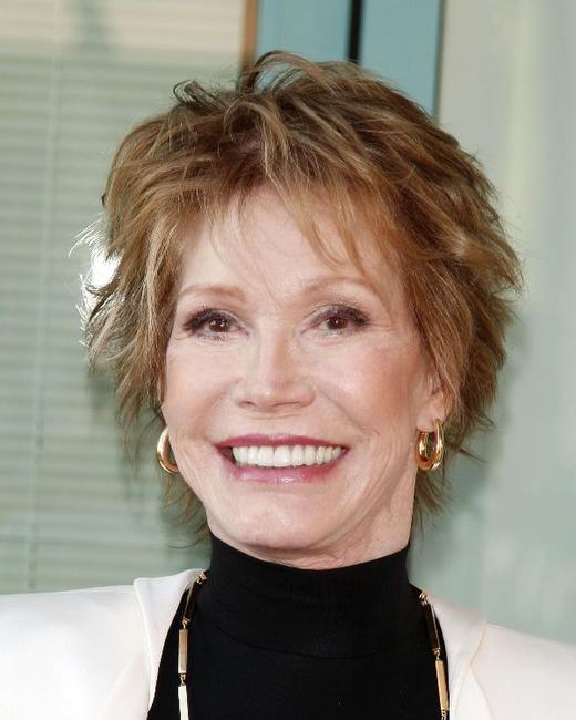 Mary Tyler Moore at the Academy of Television Arts and Sciences celebrating Betty White's 60 years on television.