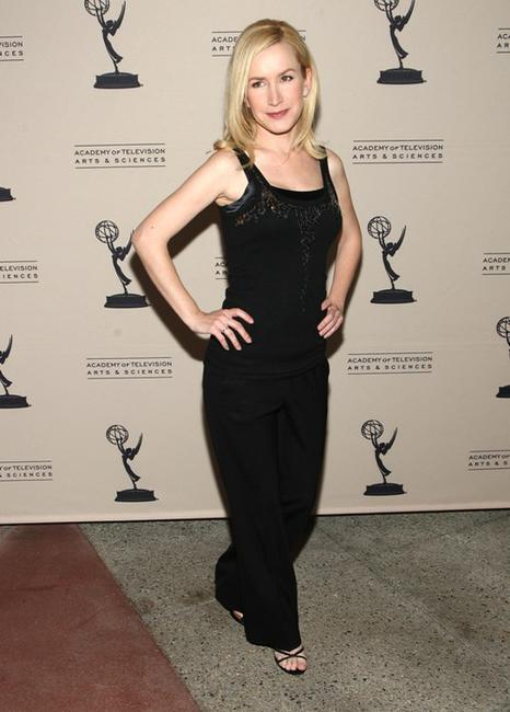 Angela Kinsey at the Academy of Television Arts and Sciences