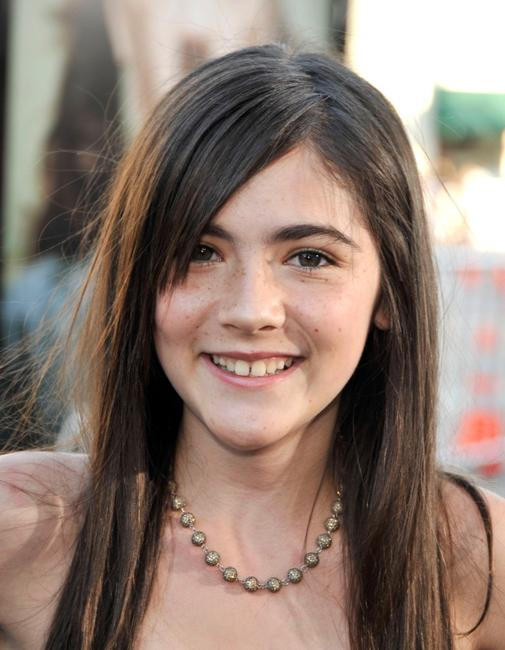 Isabelle Fuhrman at the premiere of