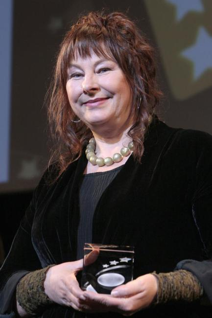 Yolande Moreau at the Etoiles D'Or Awards ceremony.