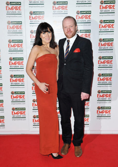 Alice Lowe and Steve Oram at the 2013 Jameson Empire Awards.