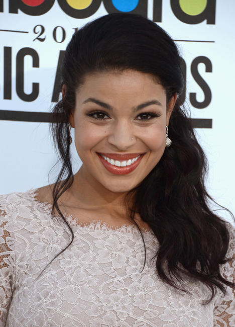 Jordin Sparks at the 2012 Billboard Music Awards in Las Vegas.