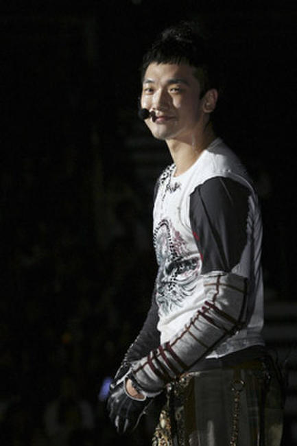 Rain during his concert in Hong Kong.