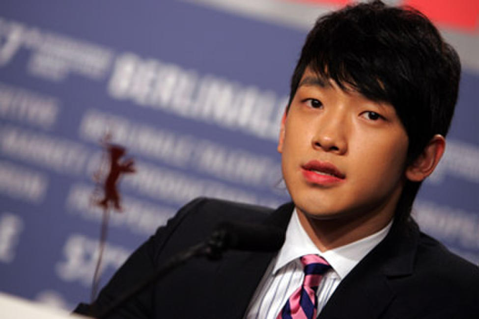 Rain at a press conference for