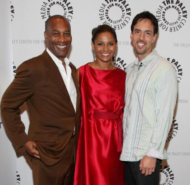 Joe Morton, Salli Richardson-Whitfield and Jaime Paglia at the screening of
