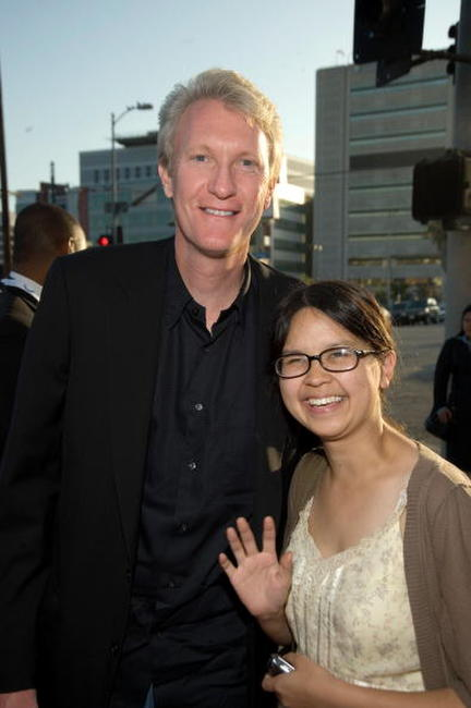 Chris McGurk and Charlyne Yi at the screening of