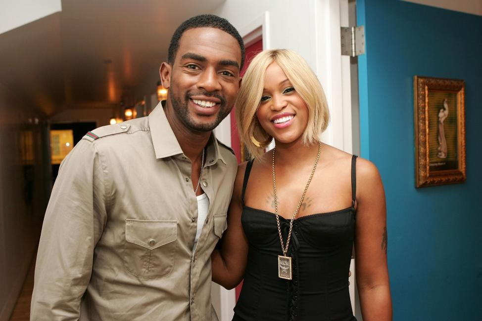 Bill Bellamy and Eve at the MTV's Sucker Free.